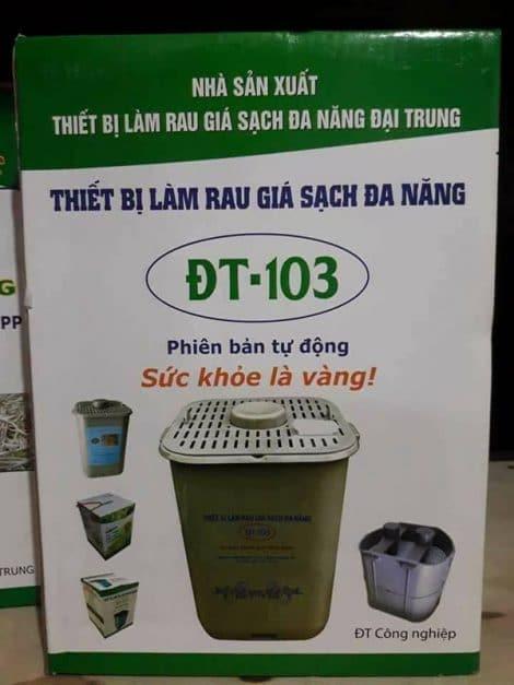 May lam gia do rau mam tu dong tai nha DT 103